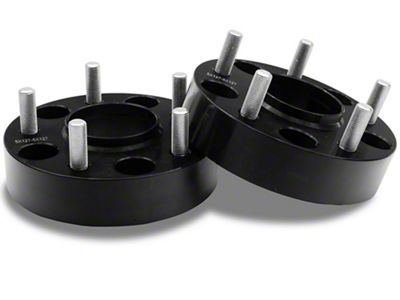 1.5 in. Wheel Spacers - Black - 5x5 Bolt Pattern (07-17 Wrangler JK)