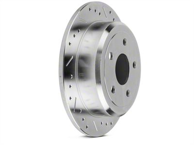Power Stop Evolution Cross-Drilled & Slotted Rotors - Rear Pair (07-18 Jeep Wrangler JK)