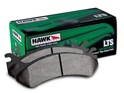 Hawk Performance LTS Brake Pads; Front Pair (07-18 Jeep Wrangler JK)