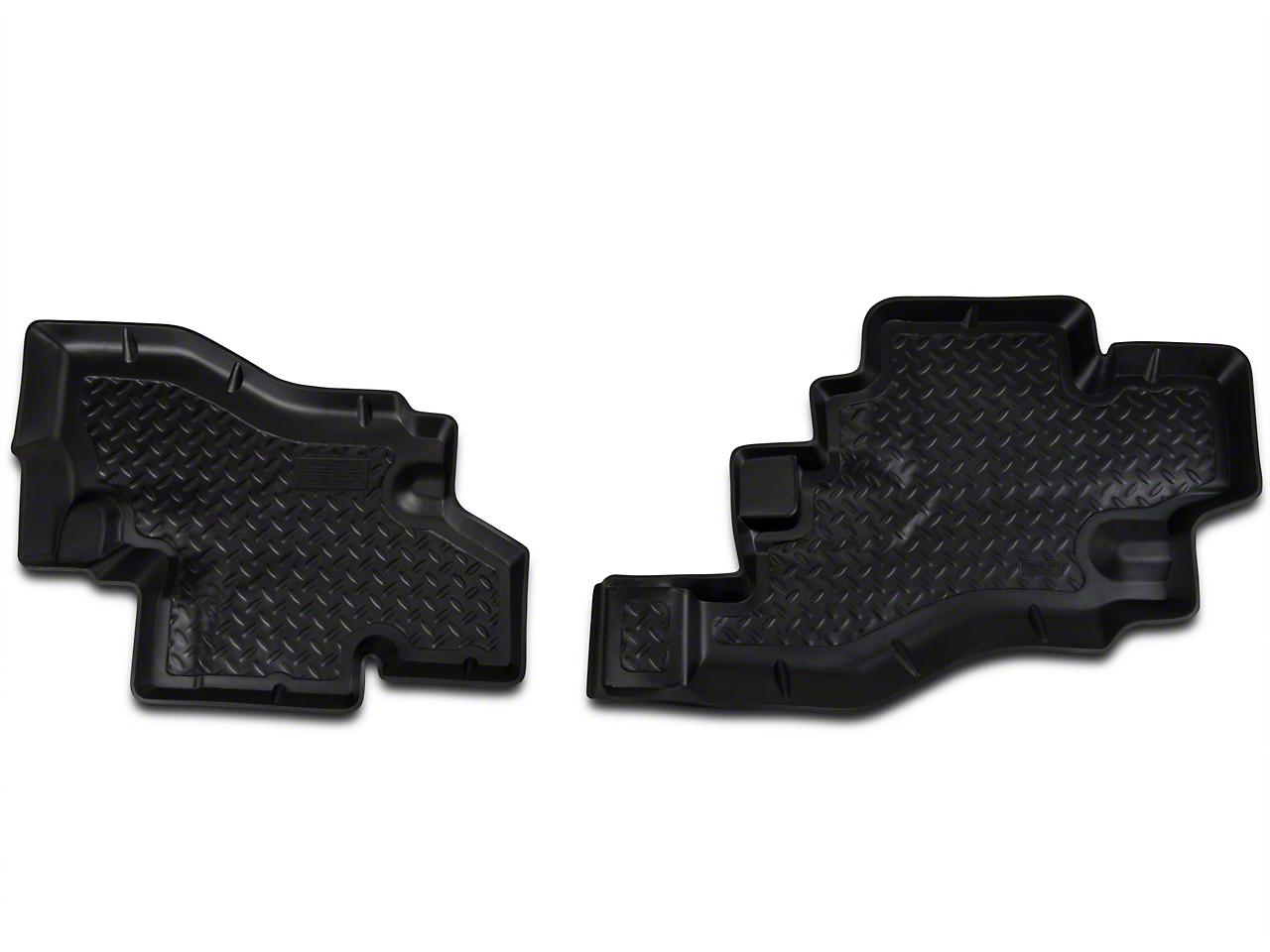 Husky Rear Floor Liner Black (87-90 Wrangler YJ)