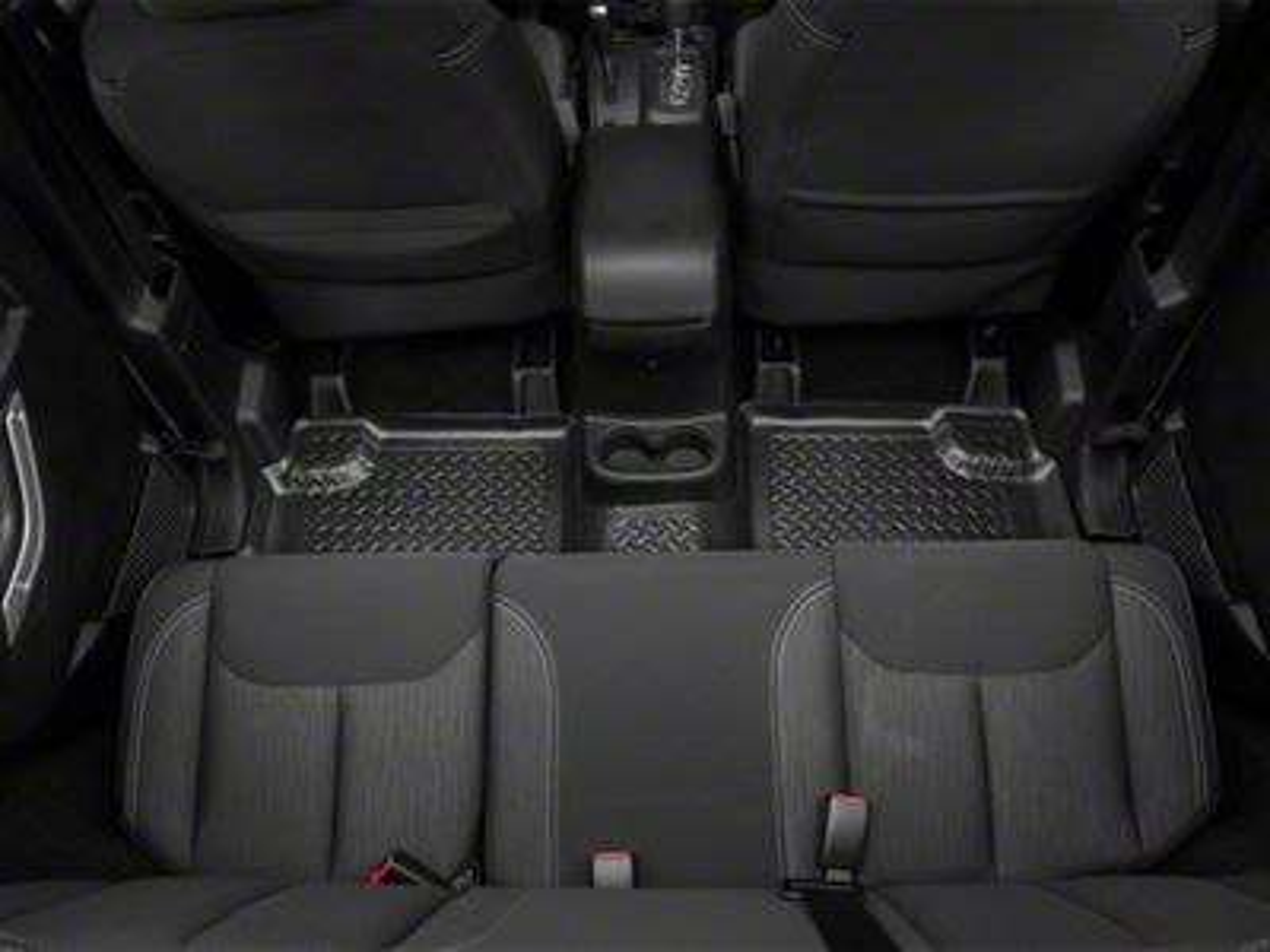 Husky Rear Floor Liner (11-13 Jeep Wrangler JK 4 Door)