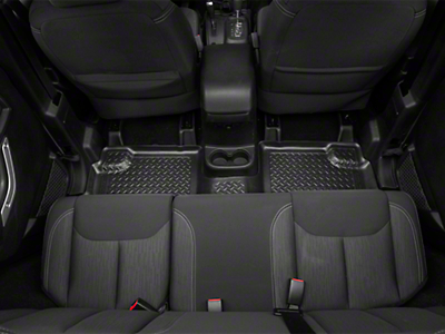 Husky Rear Floor Liner (11-13 Wrangler JK 4 Door)