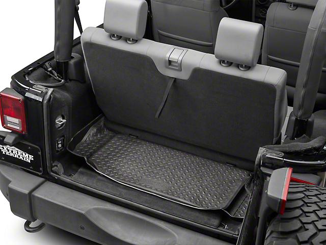 Husky Classic Cargo Liner - Black (07-10 Jeep Wrangler JK 2 Door)