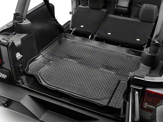 Husky Classic Cargo Liner; Black (11-18 Jeep Wrangler JK 4 Door)