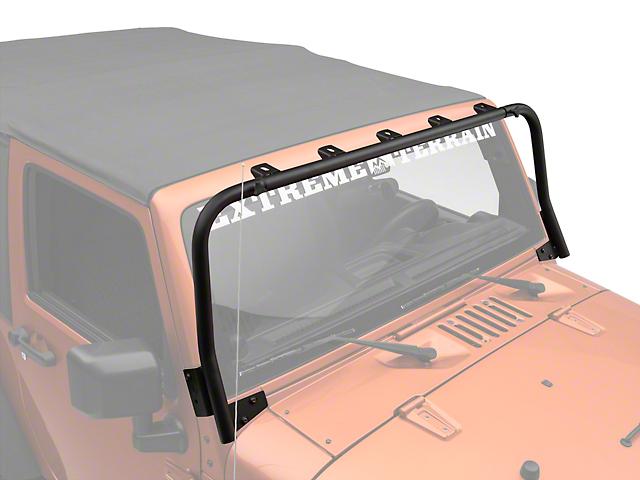 KC HiLiTES Overhead Light Bar - Black (07-18 Jeep Wrangler JK)