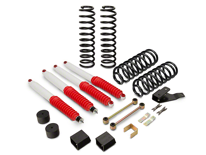 Mammoth wrangler 35 in extreme duty lift kit w shocks j100854 07 extreme duty lift kit w shocks 07 18 jeep solutioingenieria Images