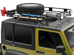 Surco Safari Removable Hard Top Rack w/ Basket (97-06 Jeep Wrangler TJ)