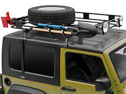 Surco Safari Removable Hard Top Rack with Basket (97-06 Jeep Wrangler TJ)