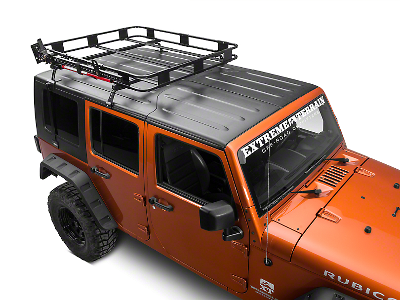 Surco Hi Lift Jack Carrier for Safari Rack (87-19 Jeep Wrangler YJ, TJ, JK & JL)