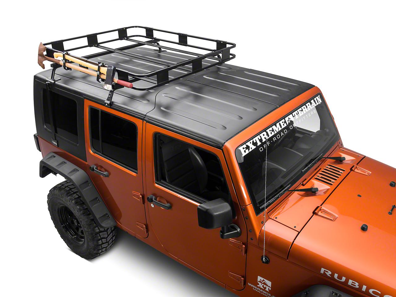 Surco Axe & Shovel Carrier for Safari Rack (87-18 Wrangler YJ, TJ, JK & JL)