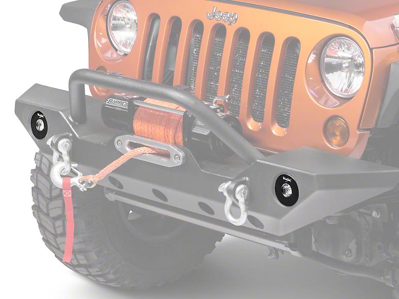 Vision X LED Fog Light Upgrade Kit (07-18 Jeep Wrangler JK)