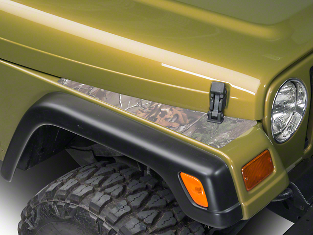 XT Graphics Fender Decal - Real Tree (87-06 Jeep Wrangler YJ & TJ)