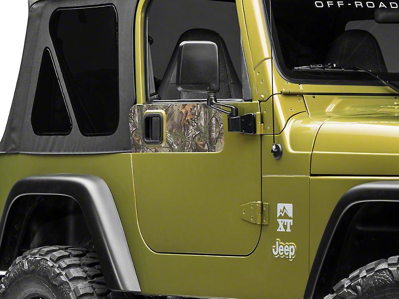 Door Accents - Real Tree (97-06 Jeep Wrangler TJ)