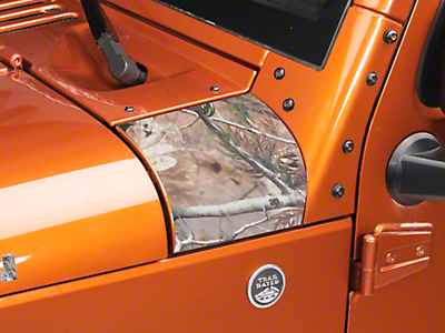 XT Graphics Outer Cowl Decal - Real Tree (07-18 Wrangler JK)