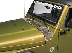 SEC10 Cowl Decal; Real Tree (97-06 Jeep Wrangler TJ)