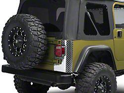 Rear Corner Decal - Diamond (97-06 Jeep Wrangler TJ)