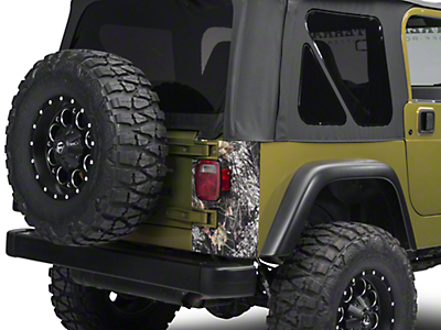 XT Graphics Rear Corner Decal - Mossy Oak (97-06 Jeep Wrangler TJ)