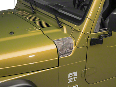 XT Graphics Outer Cowl Decal - Real Tree (97-06 Jeep Wrangler TJ)