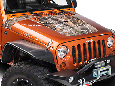 XT Graphics Cowl/Hood Combo Decal - Real Tree (07-18 Wrangler JK)