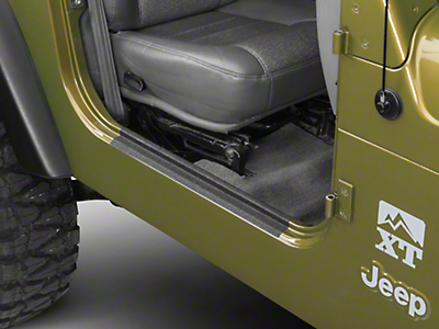 Barricade Door Sill Body Shield Decal (97-06 Jeep Wrangler TJ)