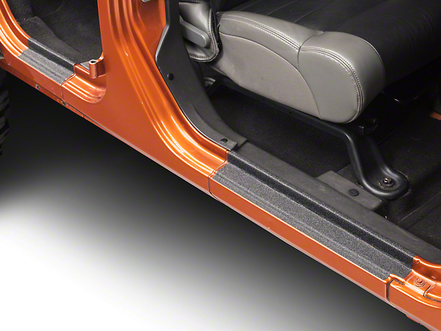 Barricade Door Sill Body Shield Decal (07-17 Wrangler JK)