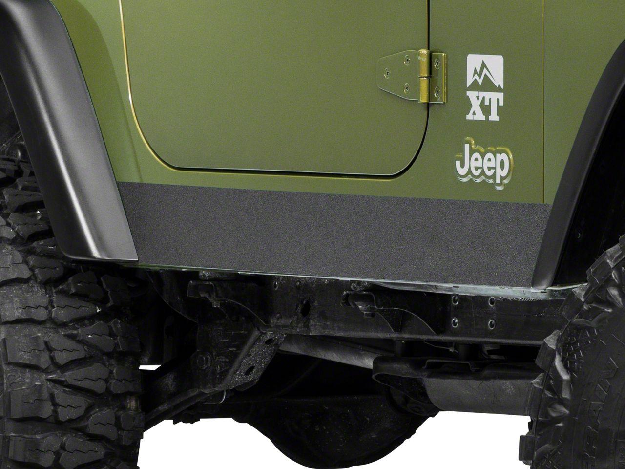 Barricade Rocker Body Shield Decal (97-06 Jeep Wrangler TJ)
