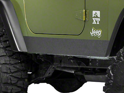 Barricade Rocker Body Shield Decal (97-06 Wrangler TJ)