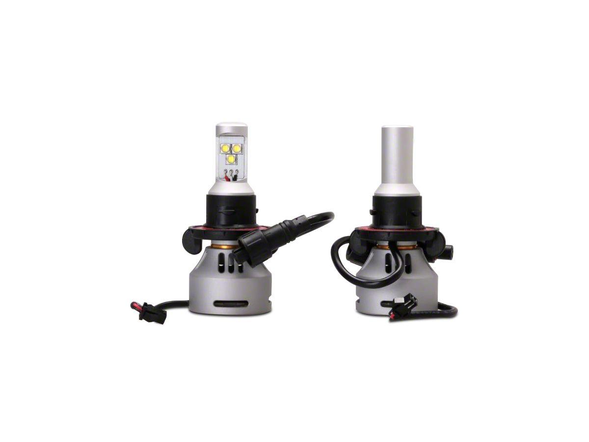Led Replacement Headlight Bulbs >> Lifetime Led H13 Led Replacement Headlight Bulbs 07 18 Jeep Wrangler Jk