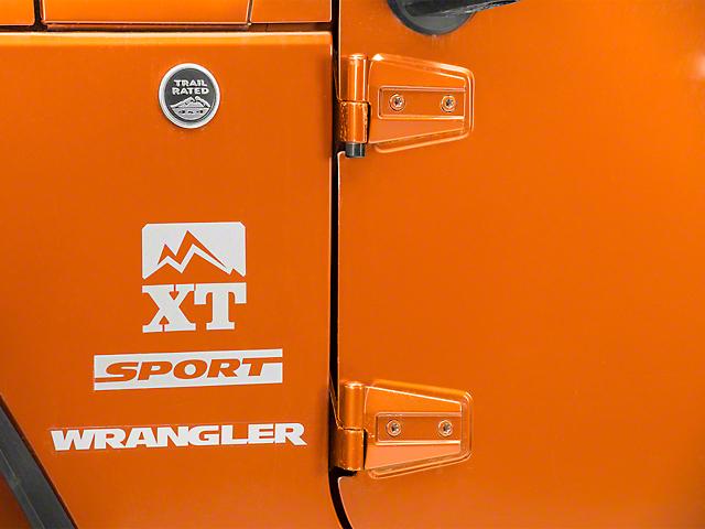 McGard High Security Door Hinge Locks (07-18 Jeep Wrangler JK 2 Door)