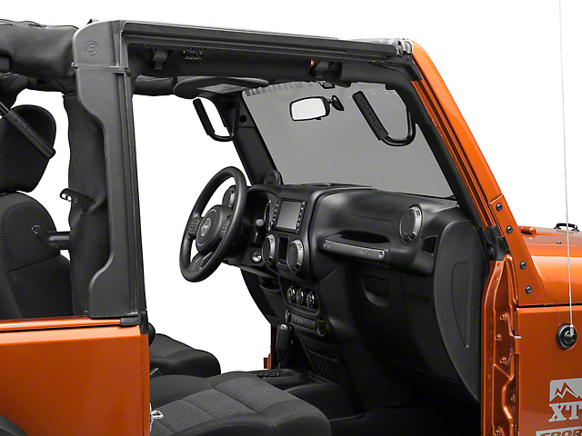 GraBars Front and Rear Grab Handles (07-18 Jeep Wrangler JK 2 Door)