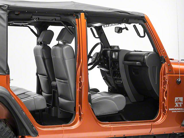 GraBars Front U0026 Rear Grab Handles (07 18 Jeep Wrangler JK 4 Door)