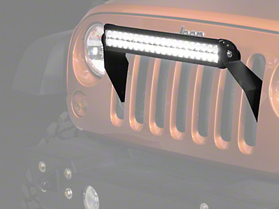 Raxiom 21.5 in. Double Row LED Light Bar - Flood/Spot Combo (87-17 Wrangler YJ, TJ & JK)