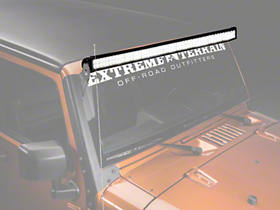 Raxiom 50 in. Double Row LED Light Bar - Flood/Spot Combo (87-17 Wrangler YJ, TJ & JK)