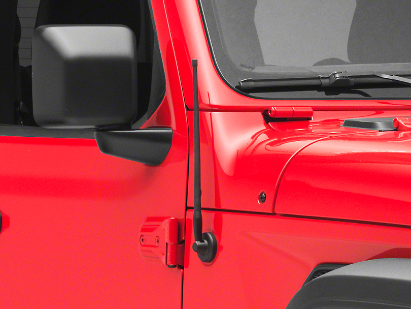 RedRock 4x4 Trail 13 in. Short Antenna (18-19 Jeep Wrangler JL)