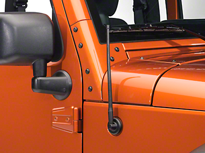 RedRock 4x4 Trail 13 in. Short Antenna (07-18 Wrangler JK)
