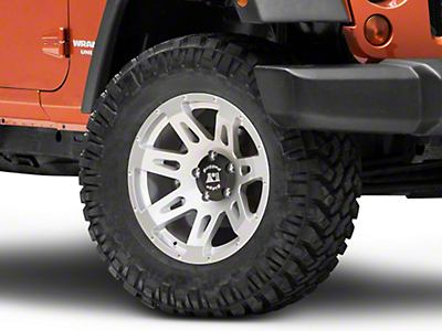 Rugged Ridge XHD Silver Wheel - 18X9 (07-18 Wrangler JK; 2018 Wrangler JL)