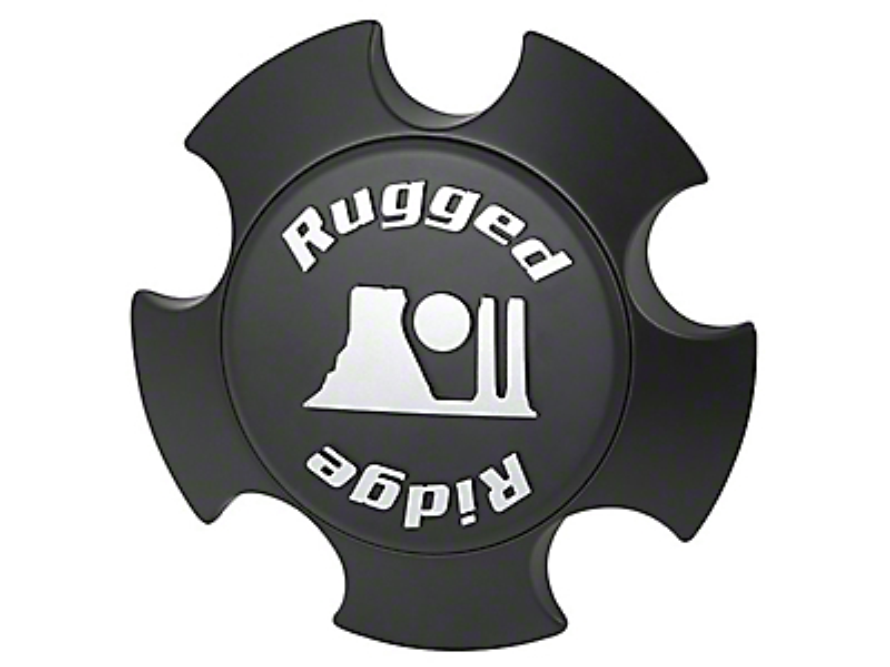 Rugged Ridge Matte Black Modular XHD Center Cap (07-18 Wrangler JK; 2018 Wrangler JL)
