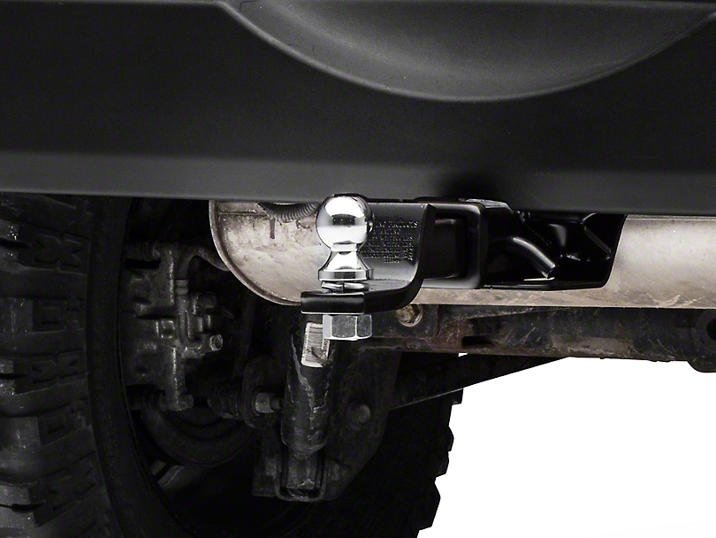 Rugged Ridge Hitch Kit w/ 2 in. Ball (07-17 Wrangler JK)