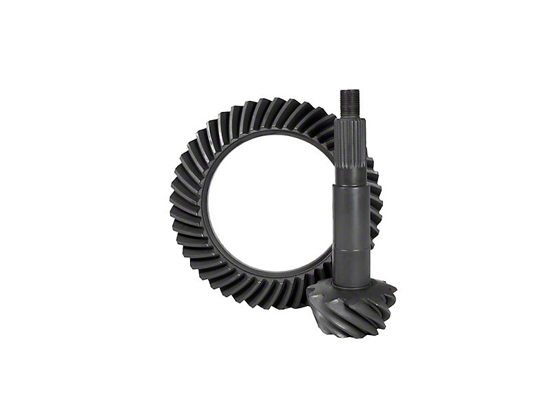 Yukon Gear Dana 44 Front or Rear Axle Ring and Pinion Gear Kit; 4.11 Gear Ratio (97-06 Jeep Wrangler TJ)