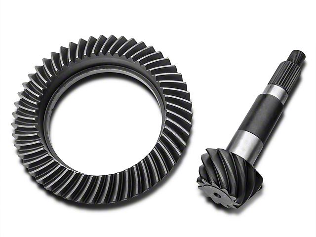 Yukon Gear Dana 44 Front or Rear Axle Ring and Pinion Gear Kit; 4.56 Gear Ratio (97-06 Jeep Wrangler TJ)