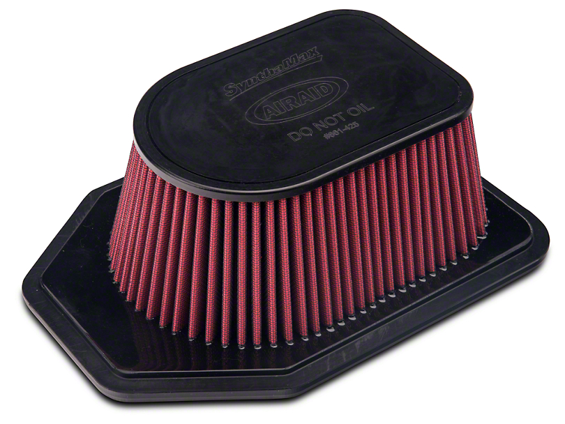 Airaid Replacement Filter - Dry (12-18 3.6L Jeep Wrangler JK)