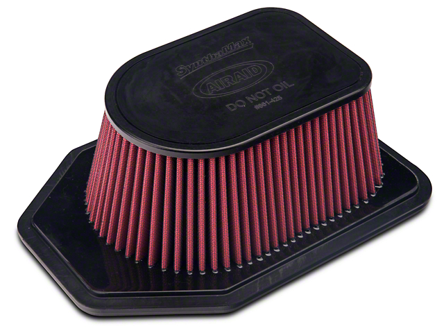 Airaid Replacement Filter; Dry (12-18 3.6L Jeep Wrangler JK)