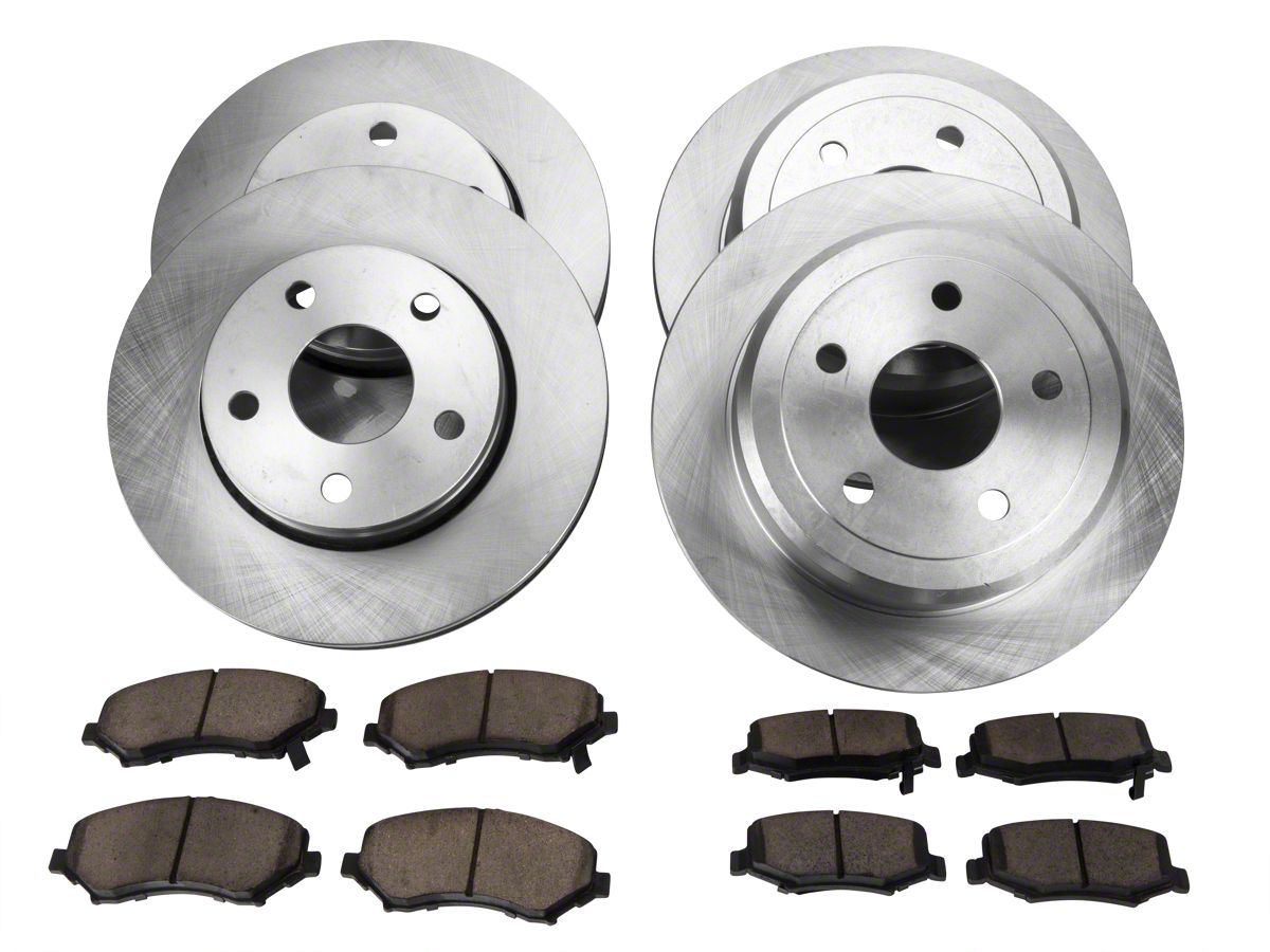 Power Stop Brakes >> Power Stop Oe Replacement Brake Rotor Pad Kit Front Rear 07 18 Jeep Wrangler Jk