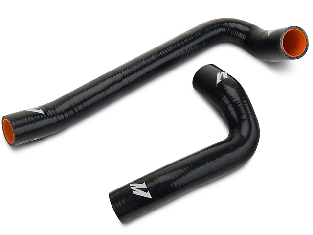 Mishimoto Silicone Radiator Hose Kit - Black (03-06 2.4L Wrangler TJ)