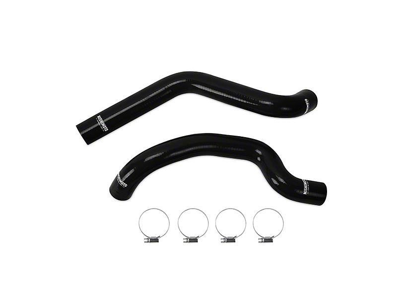 Mishimoto Silicone Radiator Hose Kit - Black (07-11 3.8L Wrangler JK)