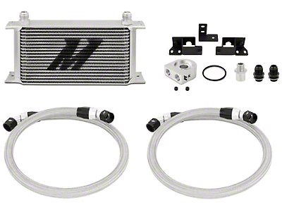 Mishimoto Oil Cooler Kit - Silver (07-11 3.8L Jeep Wrangler JK)