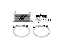 Mishimoto Oil Cooler Kit; Silver (07-11 3.8L Jeep Wrangler JK)