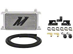Mishimoto Transmission Cooler Kit; Silver (07-11 3.8L Jeep Wrangler JK)