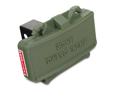 Redrock wrangler claymore hitch cover j jeep