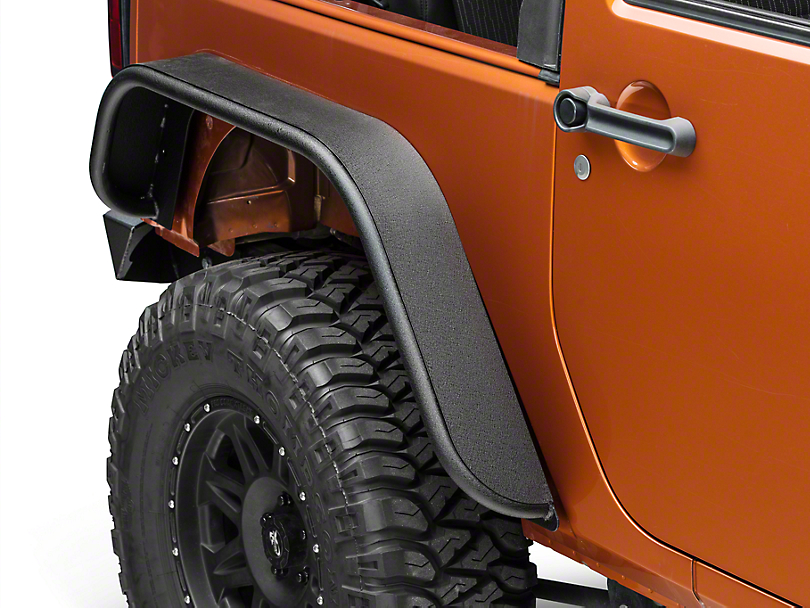 Barricade Tubular Rear Fender - Pair (07-17 Wrangler JK)